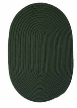 Boca Raton BR64 Dark Green Indoor/Outdoor Rug by Colonial Mills