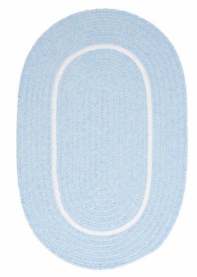 Silhouette SL15 Sky Blue Kids Rug by Colonial Mills