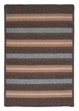 Salisbury LY99 Bark Braided Wool Rug by Colonial Mills