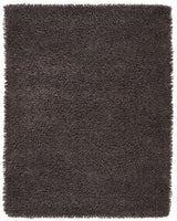 Handmade Graphite Gray Shag Area Rug | Thick, Super-Soft & Silky Smooth Pile