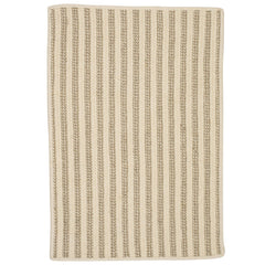 Woodland Round RD-OL13 Natural Braided Wool Rug by Colonial Mills