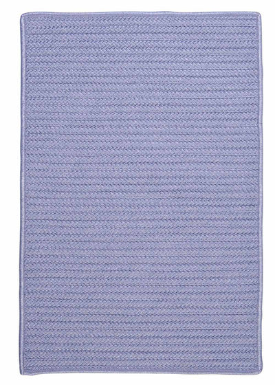 Simply Home Solid H533 Amethyst Indoor/Outdoor Ultra Durable Rug by Colonial Mills