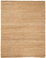 Gold Natural Jute Rug | Handmade Natural Fiber Rug With Chunky Weave