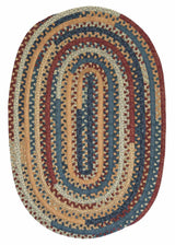 Market Mix Oval MM02 Summer Braided Rug by Colonial Mills