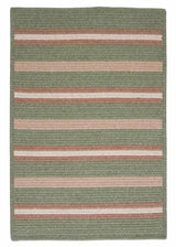 Salisbury LY69 Palm Braided Wool Rug by Colonial Mills