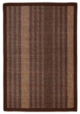 Bamboo AMB0025 Dark brown Natural Fiber Rug