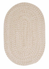 Tremont TE09 Natural Braided Wool Rug by Colonial Mills