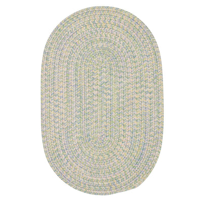 Kicks Cove OV-KC27 Pastel Braided Rug by Colonial Mills