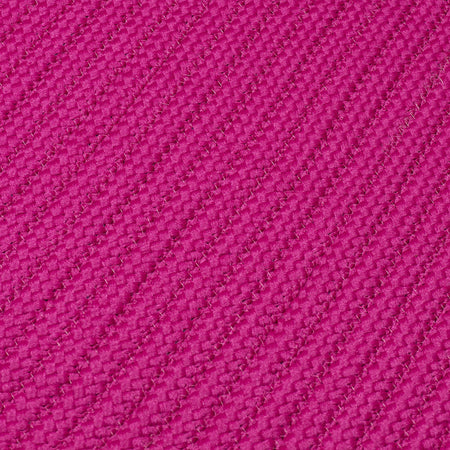 Simply Home Solid H930 Magenta Braided Ultra Durable Rug by Colonial Mills - Rug