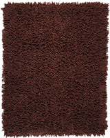 Silky Shag AMB0650 Coffee Bean Natural Fiber Rug