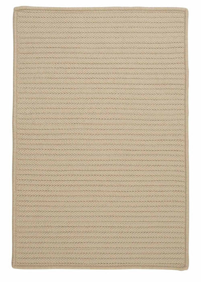 Simply Home Solid H182 Linen Indoor/Outdoor Ultra Durable Rug by Colonial Mills