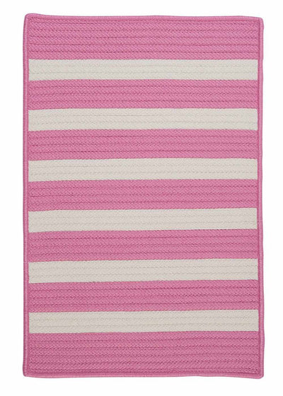 Stripe It TR79 Bold Pink Indoor/Outdoor Rug by Colonial Mills