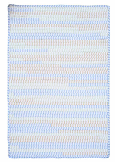 Ticking Stripe Rect. TK58 Starlight Kids Rug by Colonial Mills