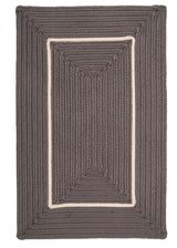 Doodle Edge FY42 Gray Braided Rug by Colonial Mills
