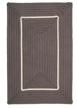 Doodle Edge FY42 Gray Braided Rug by Colonial Mills - Select Area Rugs