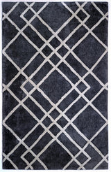 Diamond Dogs, AMB0613 Gray, Ivory Modern Rug