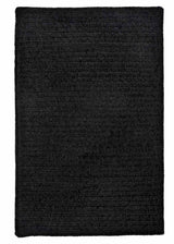 Simple Chenille M102 Black Kids Rug by Colonial Mills
