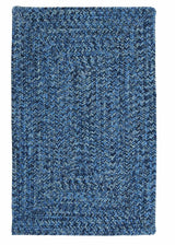 Catalina CA59 Blue Wave Braided Indoor Outdoor Rug by Colonial Mills