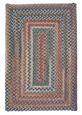 Gloucester GL48 Dusk Braided Wool Rug by Colonial Mills