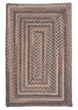 Gloucester GL88 Cashew Braided Wool Rug by Colonial Mills