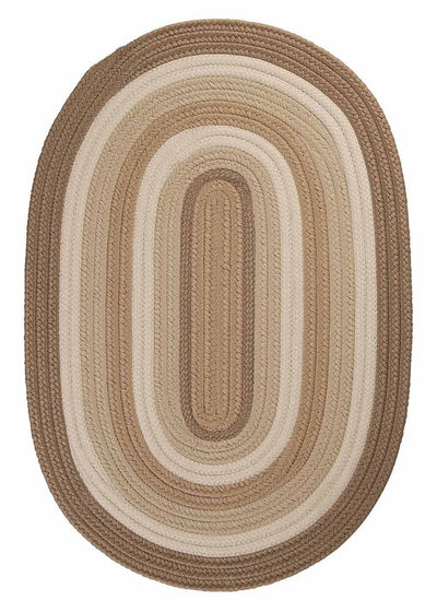 Brooklyn BN89 Natural Braided Rug by Colonial Mills