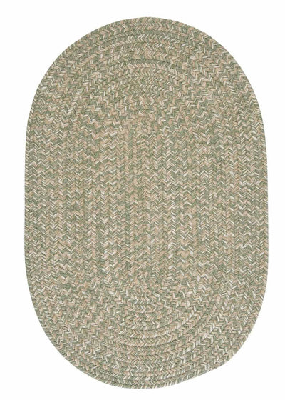 Tremont TE29 Palm Braided Wool Rug by Colonial Mills