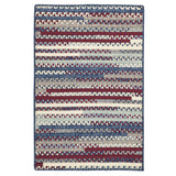 Olivera R-OV09 Antique Red Braided Rug by Colonial Mills