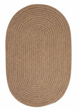 Softex Check CX18 Cafe Tostado Check Braided Rug by Colonial Mills