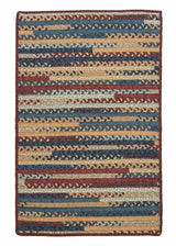 Market Mix Rect. MM02 Summer Braided Rug by Colonial Mills