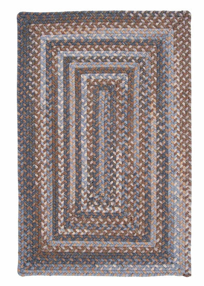 Gloucester GL98 Graphite Braided Wool Rug by Colonial Mills