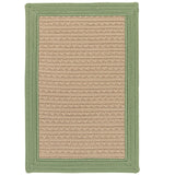 Bayswater BY63 Moss Green Braided Rug by Colonial Mills