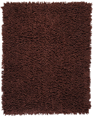 Silky Shag AMB0650 Coffee Bean Natural Fiber Rug - Rug