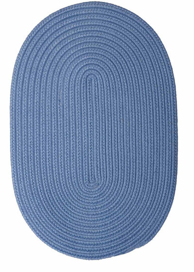 Boca Raton BR55 Blue Ice Indoor/Outdoor Rug by Colonial Mills