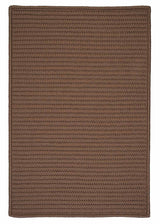 Simply Home Solid H286 Cashew Indoor/Outdoor Ultra Durable Rug by Colonial Mills