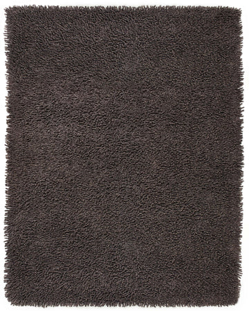 Handmade Graphite Gray Shag Area Rug | Thick, Super-Soft & Silky Smooth Pile - Select Area Rugs