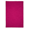 Simple Chenille M930 Magenta Braided Rug by Colonial Mills