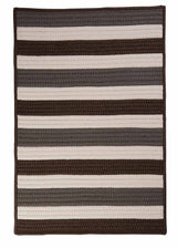 Portico PO19 Stone Braided Rug by Colonial Mills
