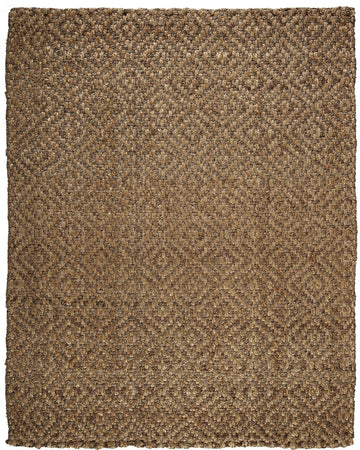 Jute AMB0325 Diamond Brown Natural Fiber Rug - Select Area Rugs