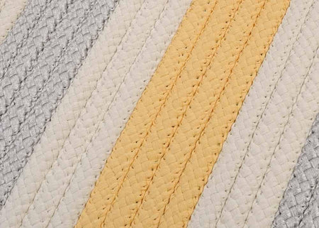 Stripe It TR39 Yellow Shimmer Indoor/Outdoor Rug by Colonial Mills - Rug