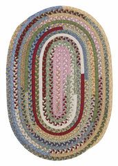 Market Mix Oval MM04 Keepsake Braided Rug by Colonial Mills