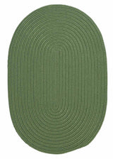 Boca Raton BR69 Moss Green Indoor/Outdoor Rug by Colonial Mills