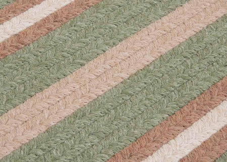 Salisbury LY69 Palm Braided Wool Rug by Colonial Mills - Rug