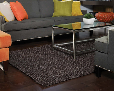 Jute AMB0334 Dark Brown Natural Fiber Rug - Select Area Rugs
