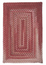 Gloucester GL78 Rhubarb Braided Wool Rug by Colonial Mills