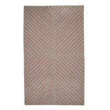 Moxie MX72 Magenta Braided Wool Rug by Colonial Mills