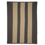 Boat House BT29 Gray Braided Indoor Outdoor Rug by Colonial Mills
