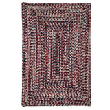 Corsica CC29 Patriotic Braided Rug by Colonial Mills
