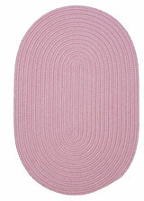 Boca Raton BR77 Light Pink Indoor/Outdoor Rug by Colonial Mills