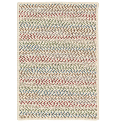 Chapman Wool PN11 Spring Mix Braided Wool Rug by Colonial Mills