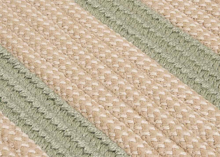 Boat House BT69 Olive Braided Indoor Outdoor Rug by Colonial Mills - Select Area Rugs